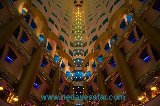 هتل برج العرب | تور دبی