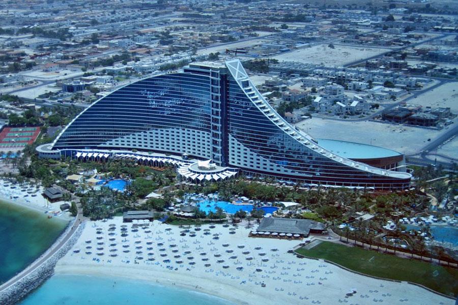 تور دبی هتل جمیرا بیچ