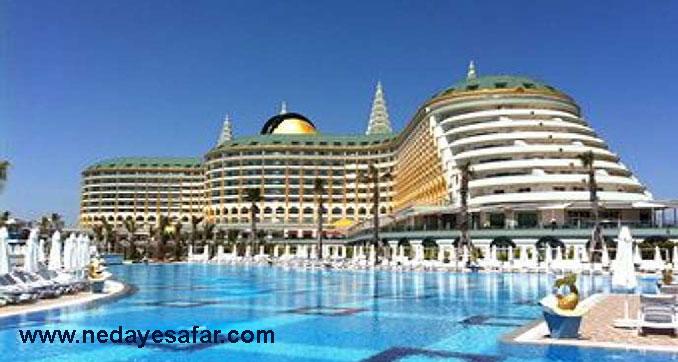 هتل 5 ستاره | تور آنتالیا
