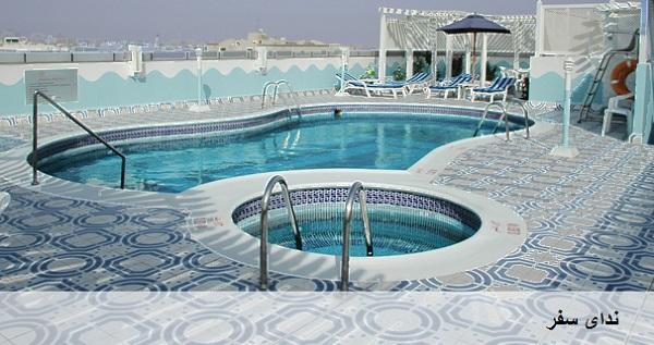 هتل 4 ستاره در دبی