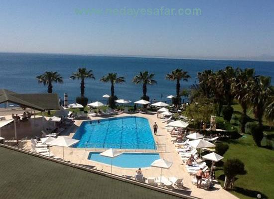 هتل چهار ستاره سندر | تور آنتالیا