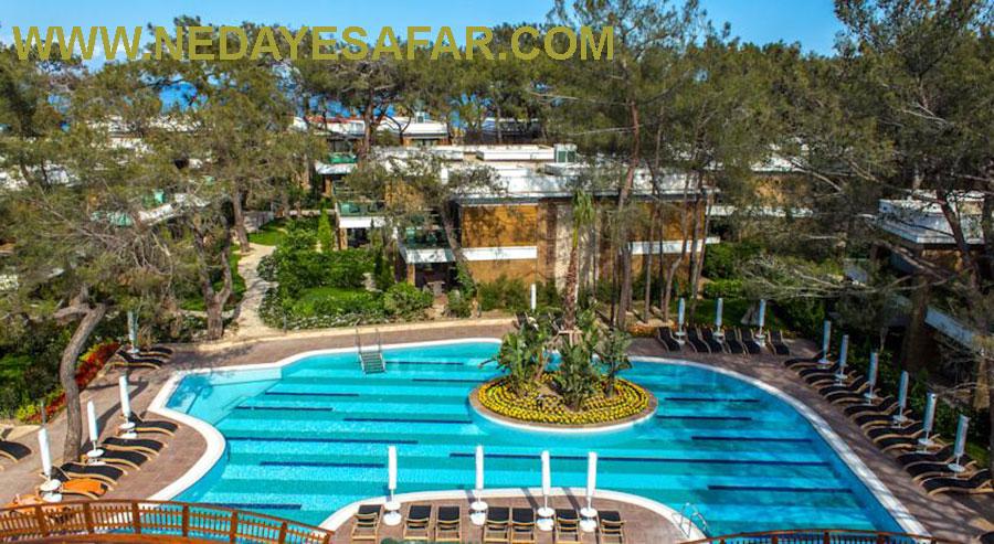 هتل پنج ستاره کریستال نیروانا