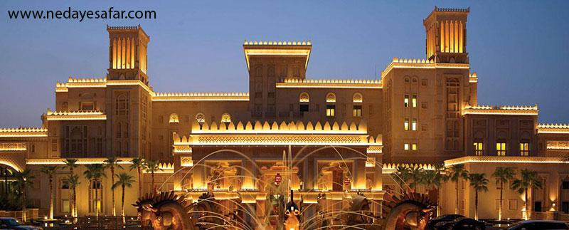 القصر پنج ستاره | تور دبی