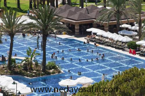 تور آنتالیا | هتل پنج ستاره