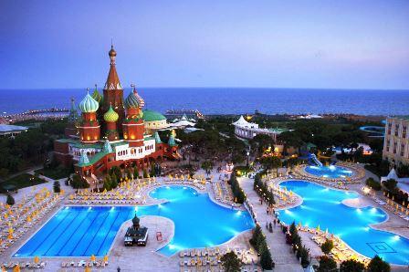 هتل پنج ستاره ووکرملین پالاس