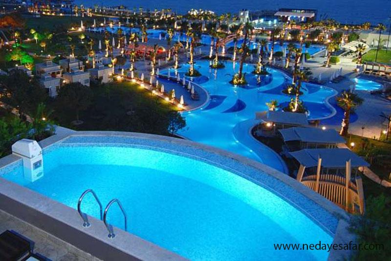هتل پنج ستاره آدام و حوا | تور آنتالیا