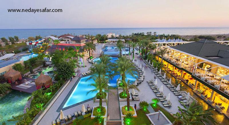 هتل پنج ستاره| تور آنتالیا