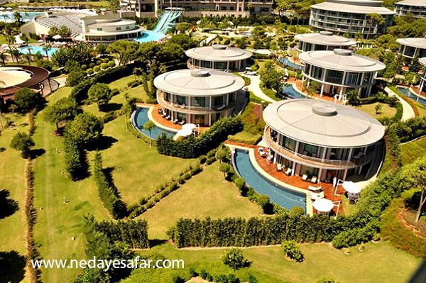هتل پنج ستاره | تور آنتالیا