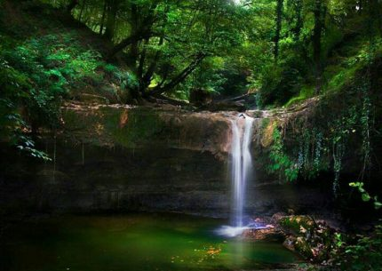 تور آبشار گزو و جنگل لفور