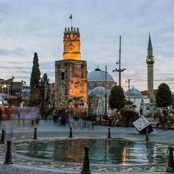 Antalya-Clock Tower-2