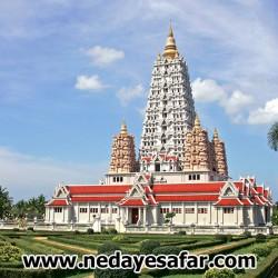 معبد مدرن وانسانگ وارارام پاتایا،پاتایا تایلند ، جاذبه های گردشگری پاتایا