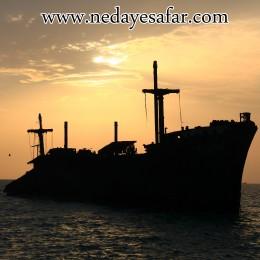 کیش کشتی یونانی جزیره کیش