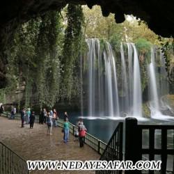 آبشار دودن آنتالیا ترکیه جاذبه های گردشگری ترکیه