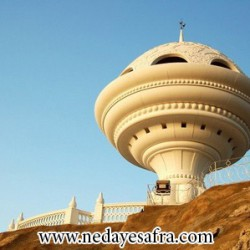 مجسمه کندرسوز عمان