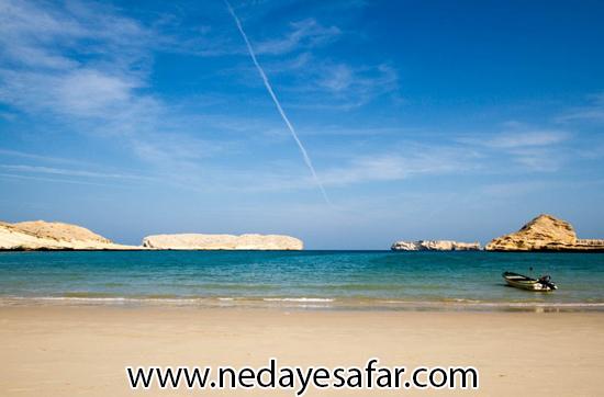 سواحل زیبای عمان