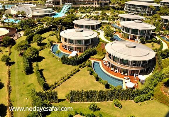 هتل پنج ستاره کالیستا | تور آنتالیا