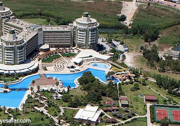 هتل ریکسوس لارس   تور آنتالیا